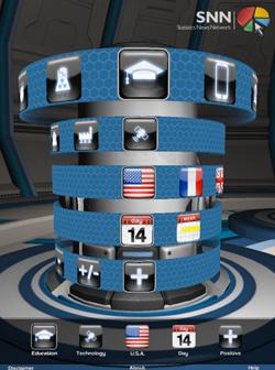statistics news network ipad gaming interface